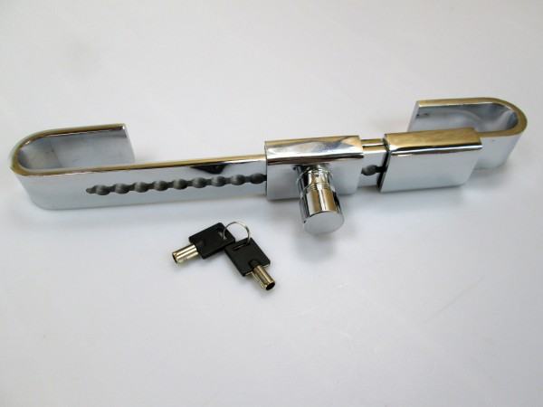 Sicherheitsverschluss für Auflieger + Container Drehstangenverschluss - Edelstahl