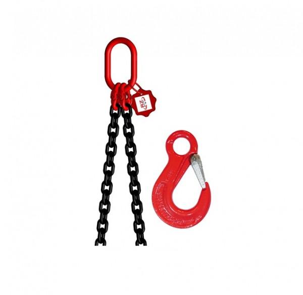 2-Strang-Kettengehänge mit Ösenlasthaken