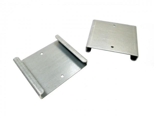 Verbindungsklammern für Fahrplattenboxen